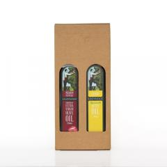 Twinset Giftbox - holds two 250ml bottles of Leafyridge Oil image
