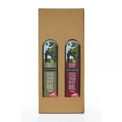 Twinset Giftbox - Holds Two 500ml Bottles Of Leafyridge Oil image