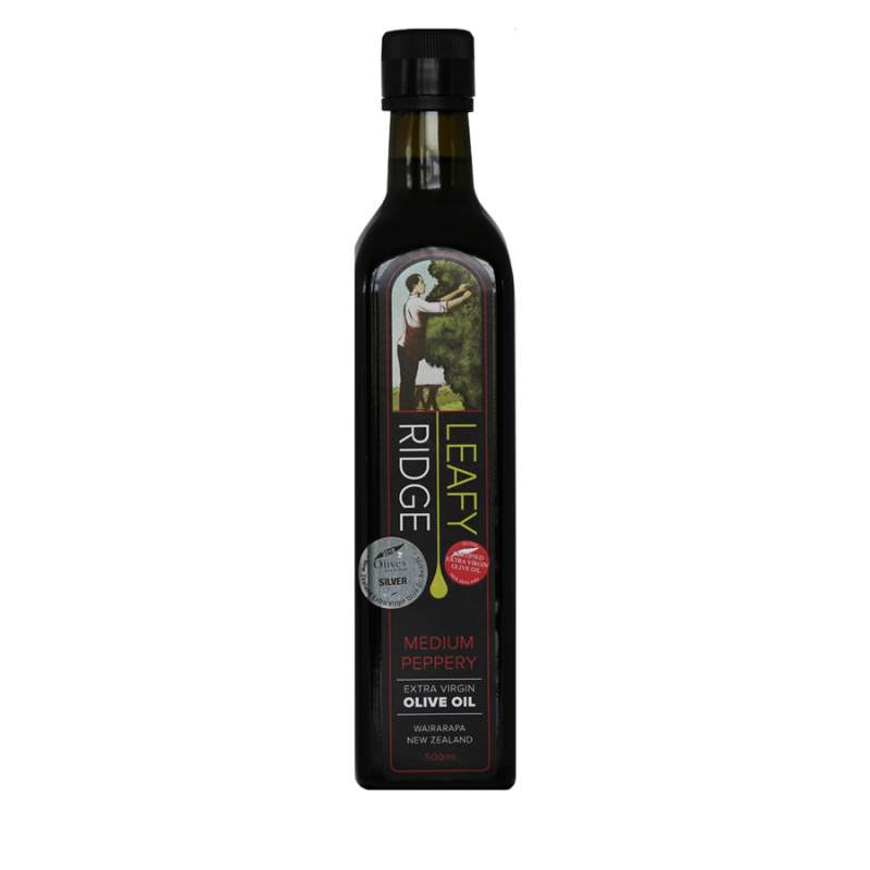 Extra Virgin Olive Oil, medium peppery - 500mL image